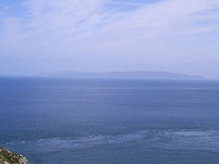 Mull of Kintyre in distance – taken from Torr Head, Northern Ireland