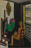 The Painter and His Model (Le Peintre dans son atelier), 1916–17, Musée National d'Art Moderne, Paris