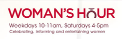 Woman's Hour logo on the BBC website