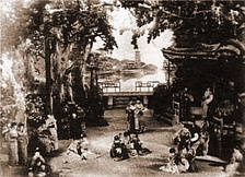 Dress rehearsal of The Mikado, 1885
