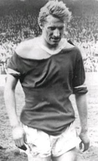 Denis Law's shirt after the vicious FA Cup semi-final