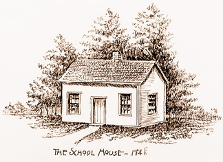 Eureka College began as a one-room schoolhouse in 1848, when the town was known as Walnut Grove.