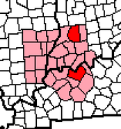 The Two Daviess Counties within the Tri-State Area.