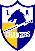 The Chargers' first logo, 1960