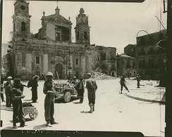 War-damaged Cathedral, 18 July 1943