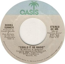 Could it be magic by Donna Summer A-side US vinyl.jpg
