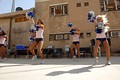 The DCC cheerleading in Iraq
