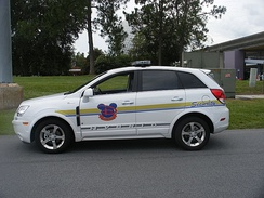 Disney Security Vehicle, picture taken July 2, 2009 in front of Epcot