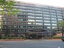 Centre Eugène Schueller, L'Oréal head office, in Clichy, France