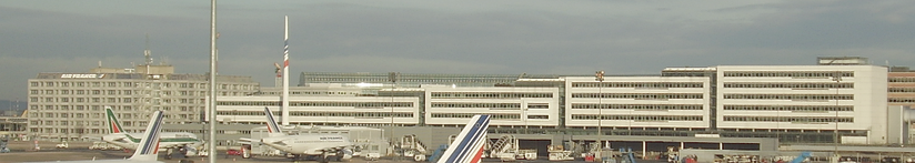 The head office of Air France in Roissypôle, Charles de Gaulle Airport, Tremblay-en-France