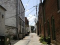 An alley between north Main Avenue and north Springfield Avenue
