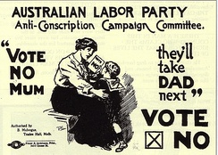 An Australian anti-conscription poster from World War I
