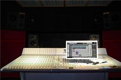 Parts of the album were recorded and mixed at Cherry Beach Sound (control room pictured).[11]
