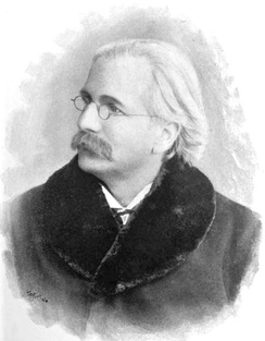 Dr Joseph Parry, composer of Myfanwy