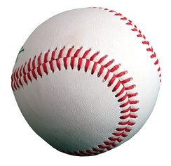 A typical baseball