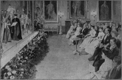 Command Performance, 1905 at Windsor Castle: The Merchant of Venice, performed by Arthur Bourchier's company