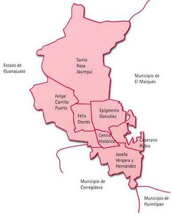 Boroughs/Delegaciones