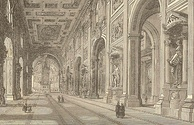 An 1870 view of the Lateran