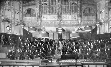 Elgar and the LSO, Queen's Hall, 1911