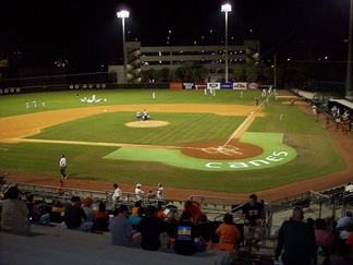 Alex Rodriguez Park at Mark Light Field on the campus of the University of Miami