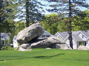 Holliston Balancing Rock
