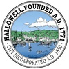 Official seal of Hallowell, Maine