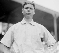 Mordecai Brown played for Chicago in 1915.