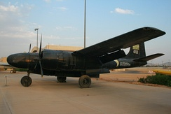 B-26 Invader at Royal Saudi Air Force Museum in Riyadh