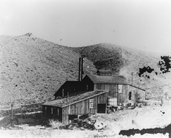 View of the Bidwell Mill about 1880
