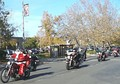 A Toy Run in Marysville to collect toys for Christmas