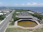 Pic geo photos - ph=mm=pasay=roxas blvd.=ccp complex=ccp main theater - aerial shot from legzspi towers 300 -philippines--2015-0625--ls-.JPG