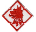 403 Squadron Helicopter Operational Training Squadron badge 1982