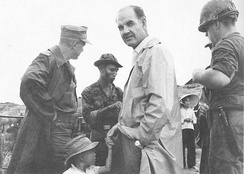 Senator McGovern on his first trip to South Vietnam, November 1965