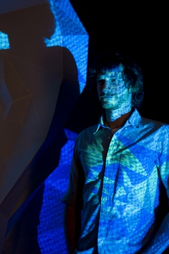 Gotye in front of Fractured Heart (2013)
