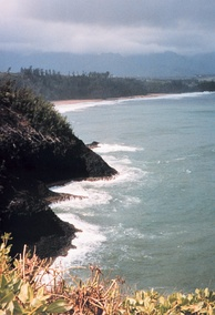 Northeastern coast of Kauaʻi, near Kīlauea