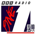 BBC Radio 1 logo from 1990 to 1994.