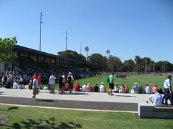 Redfern Oval, Rabbitohs vs Wests Tigers pre-season trial game, 8 February 2009.