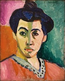 Portrait of Madame Matisse (The green line), 1905, Statens Museum for Kunst, Copenhagen, Denmark