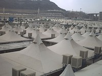 Tents at Mina.