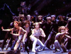 The original 1981 London cast of Cats