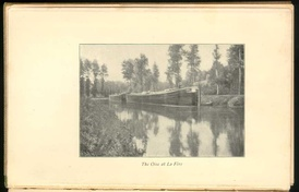 'Canal barges in Belgium', an image from Robert Louis Stevenson's book, An Inland Voyage.