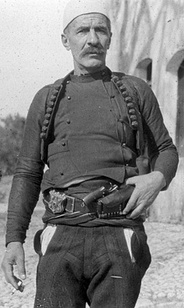 Guerrilla fighter  Isa Boletini.