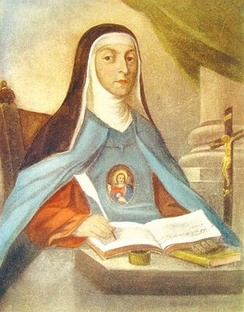 Maria Celeste Crostarosa, the foundress of the order