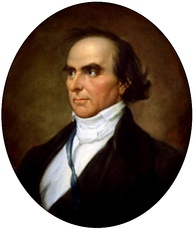 Portrait of Daniel Webster commissioned by the Senate in 1955