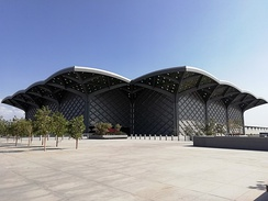 Haramain high-speed railway station at Medina