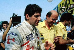 South African Jody Scheckter won the Drivers' Championship, driving for Ferrari.