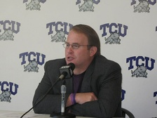 Gary Patterson, current head coach of the TCU Horned Frogs.