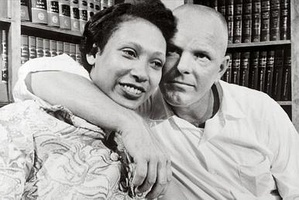Richard and Mildred Loving, appellants in Loving v. Virginia, the landmark Supreme Court of the United States case which struck down laws making interracial marriage illegal