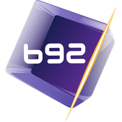 TV B92's fourth and final logo used from 19 March 2012 to 10 September 2017