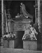Tomb of Pope Clement XIII Gregorovius.jpg